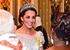 Księżna Katena spotkaniu z korpusem dyplomatycznym