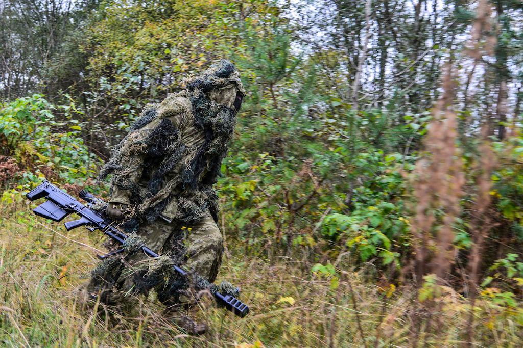 Żołnierz rosyjskiej 76. dywizji desantowo-szturmowej