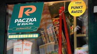 Lub kioskach Ruch-u