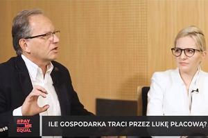 Ile gospodarka traci przez lukę płacową? Jacek Wojciechowicz, Global Compact Network Poland