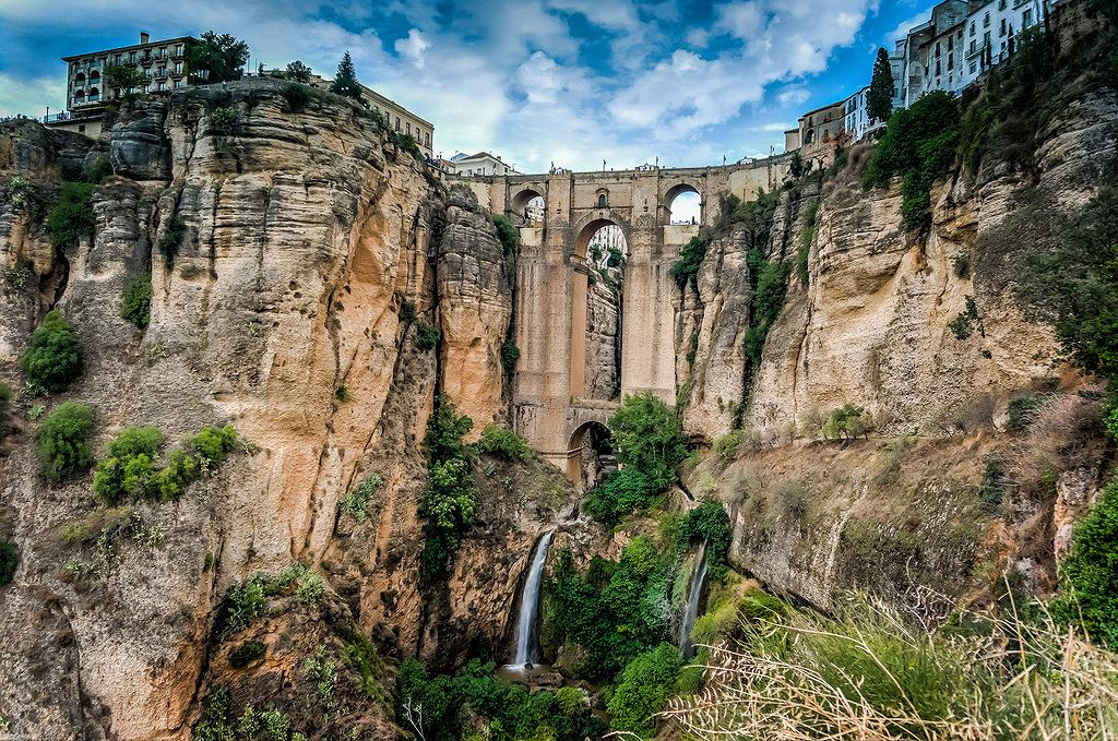 Puente Nuevo w Rondzie, Hiszpania / Fot. Steven Gerner, flickr.com / CC BY-SA 2.0
