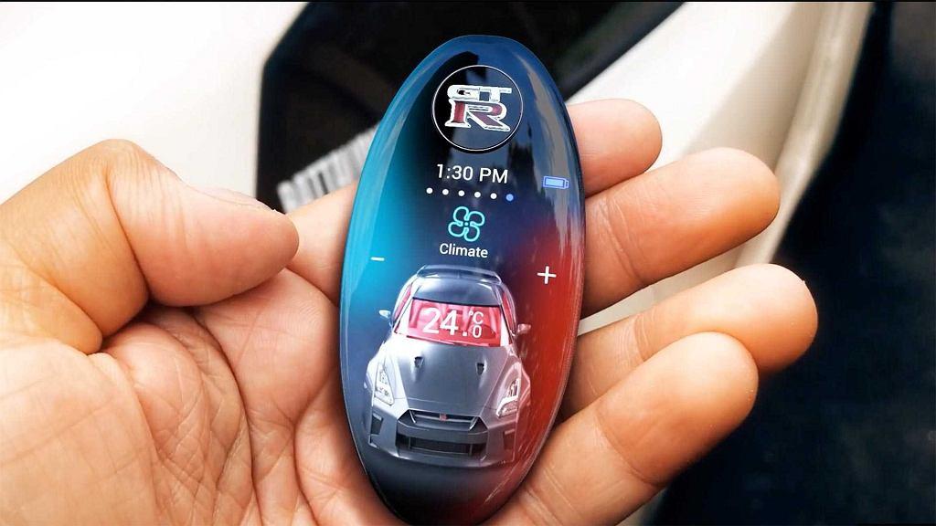 Koncept kluczyka do Nissana GT-R