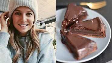 Anna Lewandowska - przepis na ciasto czekoladowe