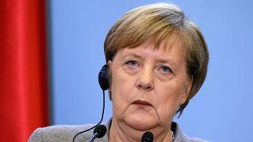 Angela Merkel kanclerz Niemiec