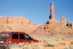 Podróże: samochodem przez Dziki Zachód