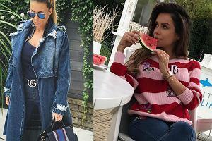 fot. Instagram siwiec, rozenek-majdan/ jeansowe ubrania