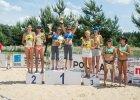 Kobiety zagrały na piasku w Leśnej Woli. Najlepsze Magdalena Saad i Aleksandra Theis