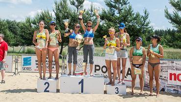IV Otwarty Podkarpacki Turniej Siatkówki Plażowej Kobiet - Leśna Wola 2015
