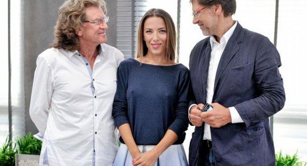 Ewa Chodakowska w studio 'DD TVN', Ewa Chodakowska w studio 'DD TVN', Zbigniew Wodecki, Jacek Santorski