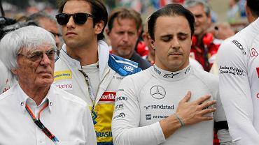 Bernie Ecclestone i Felipe Massa