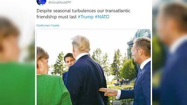 Zdjęcie, które zamieścił na Twitterze Donald Tusk