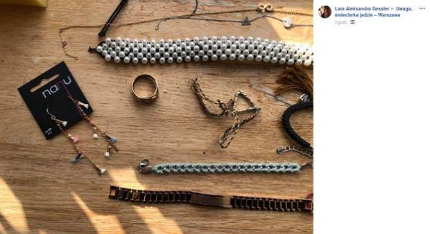 Lara Gessler oddaje biżuterię