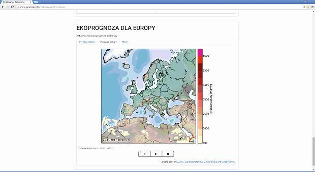 Ekoprognoza dla Europy