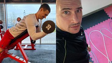 Mateusz Damięcki - trening