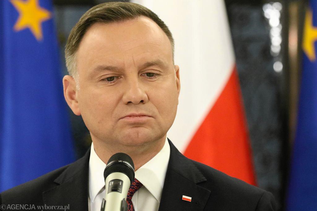 Andrzej Duda pogratulował Nobla Oldze Tokarczuk