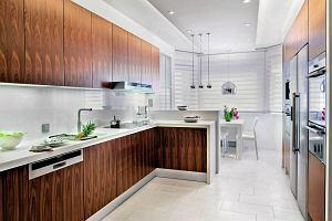 Oświetlenie w kuchni: strefa uwagi