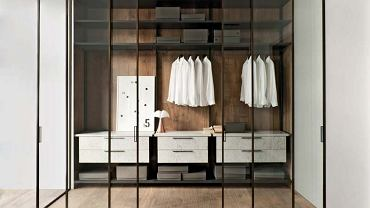 Szkło w garderobie