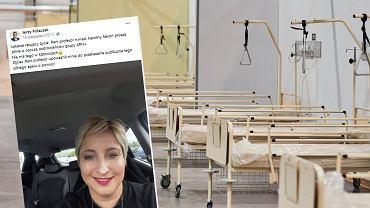 Prof. Karolina Sieroń wygrała walkę z COVID-19. 'Wróciłam do domu'