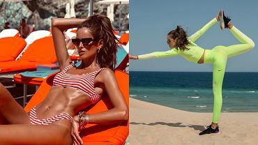 Izabel Goulart zaliczyła treningową wpadkę. Pokazujemy jak poprawnie wykonać plank. Nie róbcie tego jak gwiazda