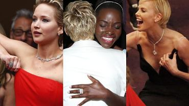 Chalize Theron, Jennifer Lawrence, Lupita Nyong'o