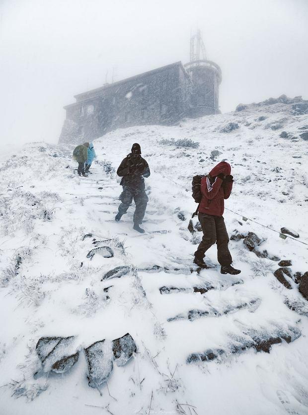 Wrześniowa 'zima' w Tatrach
