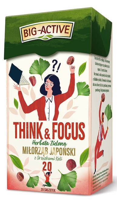 Zielona herbata Think&Focus