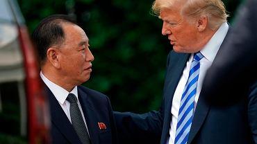 Kim Yong-chol osobiście przekazał amerykańskiemu prezydentowi list od Kim Dzong Una