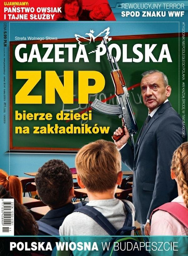 Okładka 'Gazety Polskiej' z 13 marca 2019