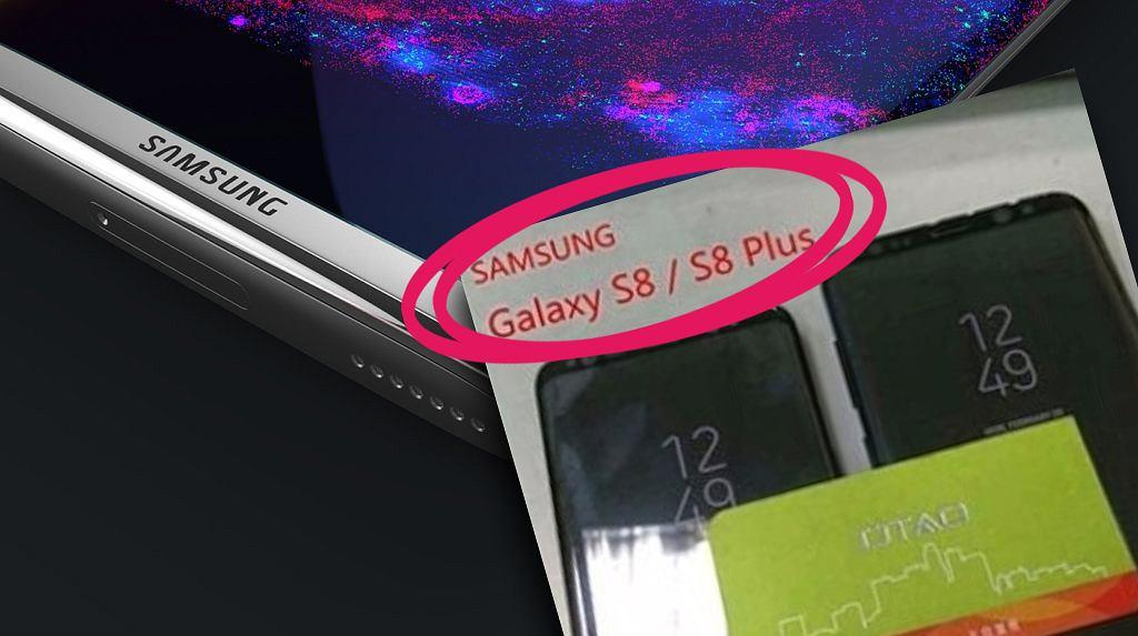 Galaxy S8 i Galaxy S8+ - nieoficjalne zdjęcie
