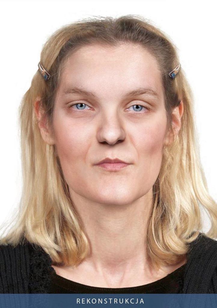 Rekonstrukcja wizerunku kobiet, której zwłoki zaleziono w 2017 roku na Pradze Południe