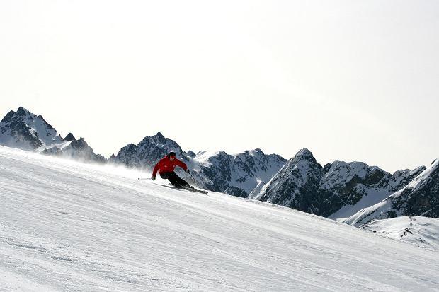 Skifahren im Skigebiet Hochzeiger