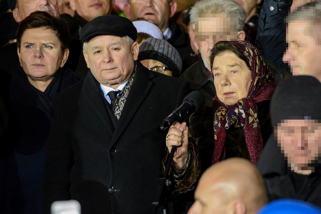 Jarosław Kaczyński, Katarzyna Łaniewska