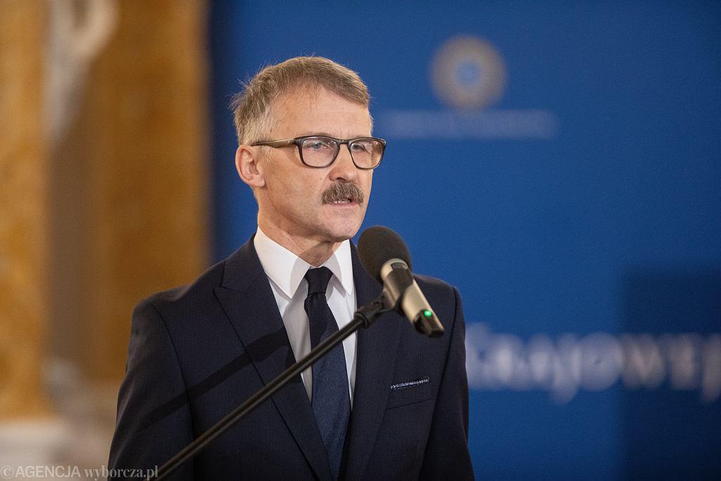 Przewodniczący KRS. Leszek Mazur