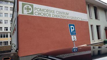 Pomorskie Centrum Chorób Zakaźnych i Gruźlicy w Gdańsku.