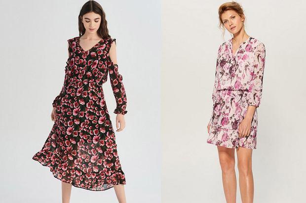 sukienka w kwiaty, fot. mat. partnera