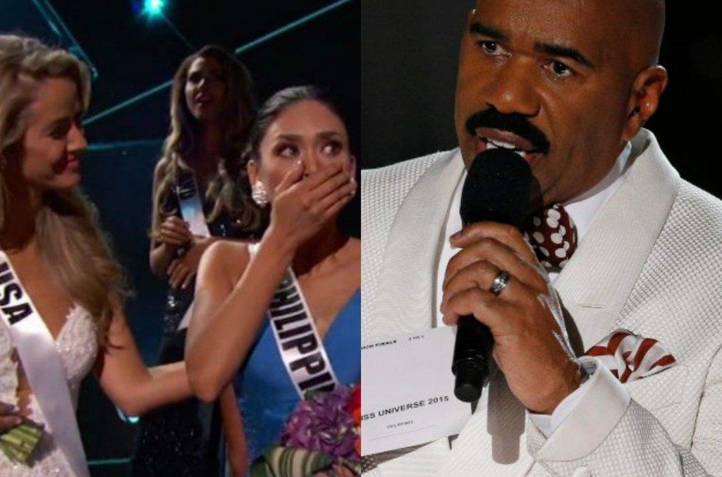 Miss Kolumbii, Miss Filipin, Steve Harvey