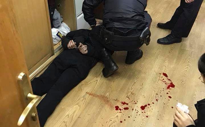 Nożownik zaatakował Tatianę Felgengauer