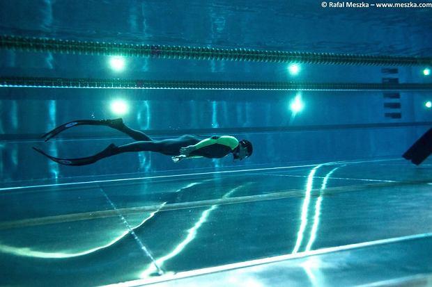 Basenowe zawody we freedivingu - Underwater Polish Open 2017