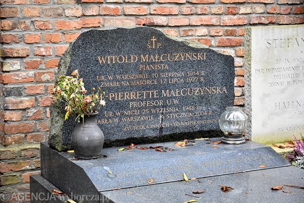 Zdjęcie numer 13 w galerii - Wszystkich Świętych. Tu spoczywa Władysław Reymont i Wojciech Młynarski. Groby w Alei Zasłużonych na Starych Powązkach [ZDJĘCIA]
