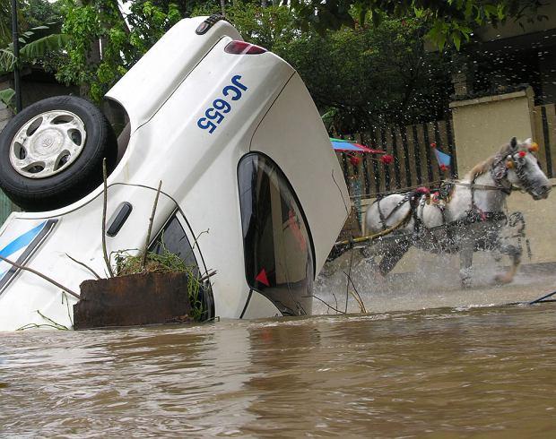Powódź w Dżakarcie