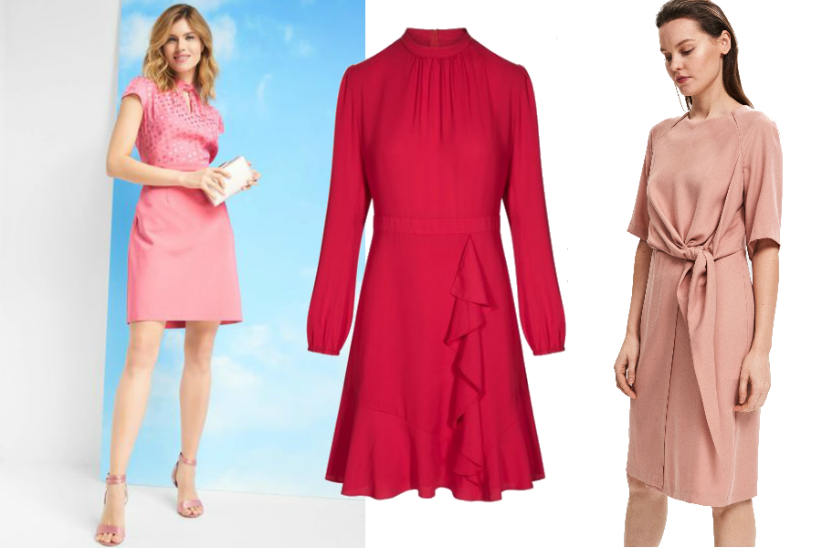 modne sukienki dla mamy na komunię