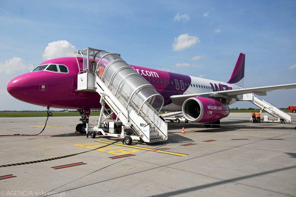 Wizz Air odwołuje zawiesza loty do Włoch