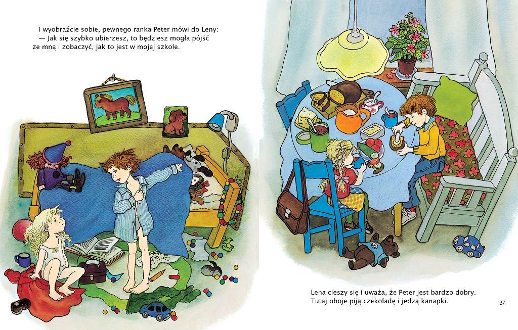 'Peter i Lena. Dwa opowiadania' - Wydawnictwo Zakamarki