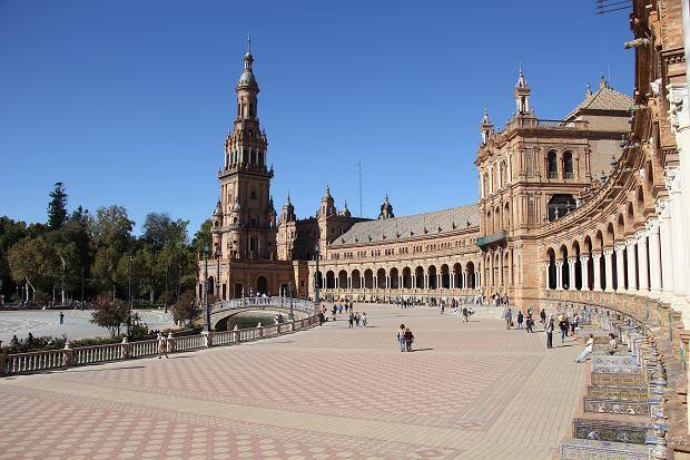Plac Hiszpański w Sewilli