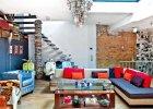 Wnętrza: mieszkanie w stylu pop-art