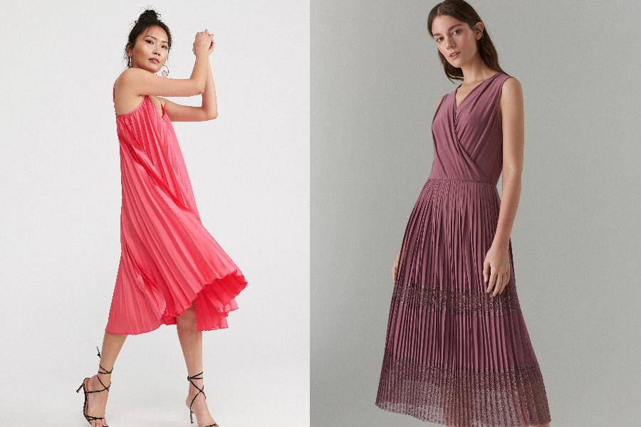 sukienki plisowane