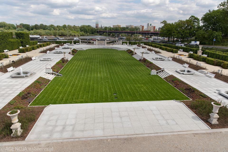 Nowy Ogród Przy Zamku Królewskim Będzie Huczne Otwarcie