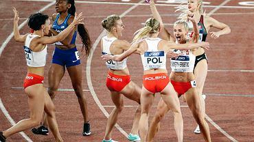Polska sztafeta 4x400 m w Jokohamie