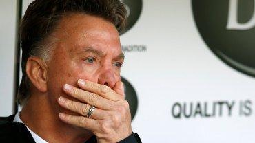 Menedżer Manchesteru United Louis Van Gaal