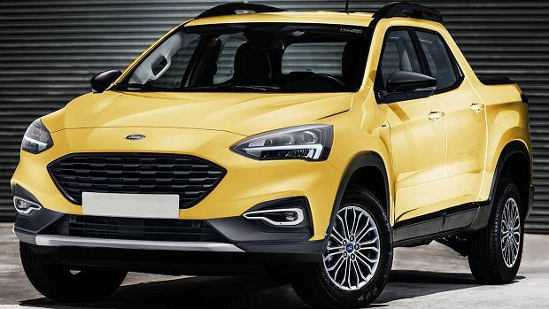 Ford Focus Pickup (render)